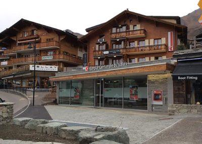 Transformation Banque Cantonale du Valais de Verbier
